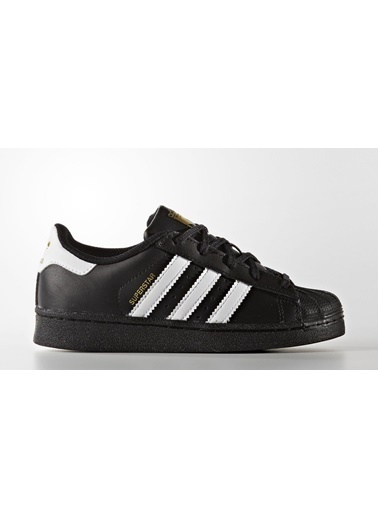 adidas Adidas Ba8379 Superstar Foundation Unisex Çocuk Günlük Ayakkabı Siyah